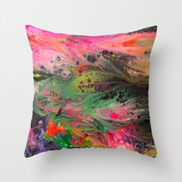 Sixth Dip Throw Pillow