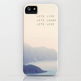 Corfu iPhone Case