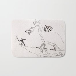 Prince to the rescue Bath Mat