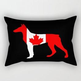 Canada Doberman Rectangular Pillow