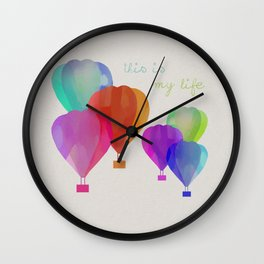 This Is My Life Wall Clock