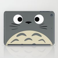 miyazaki iPad Cases featuring Curiously Troll ~ My Neighbor Troll by Canis Picta