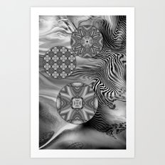Silver Cirubias Art Print