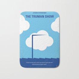 No234 My Truman show minimal movie poster Bath Mat