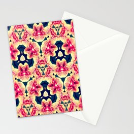 Kaleidoscope Orchids Stationery Cards