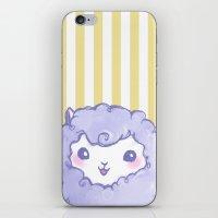 alpaca iPhone & iPod Skins featuring Alpaca by Nurt