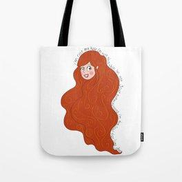 I'm not my hair! Tote Bag