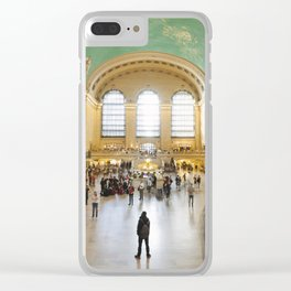 Grand Central Station Clear iPhone Case