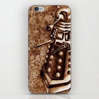 dalek iPhone & iPod Skins featuring Dalek by Redeemed Ink by - Kagan Masters