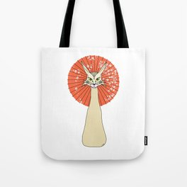 Felidae light Tote Bag