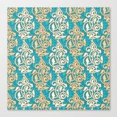 Arabesque seamless pattern Canvas Print