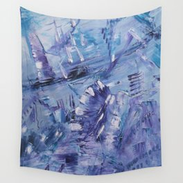 Shards of Sails by the Bay Wall Tapestry