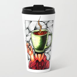 coffee head Travel Mug