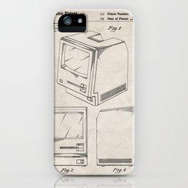 Apple Macintosh Patent - Apple Art - Antique iPhone Case