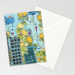 Livin' In The City  Stationery Cards