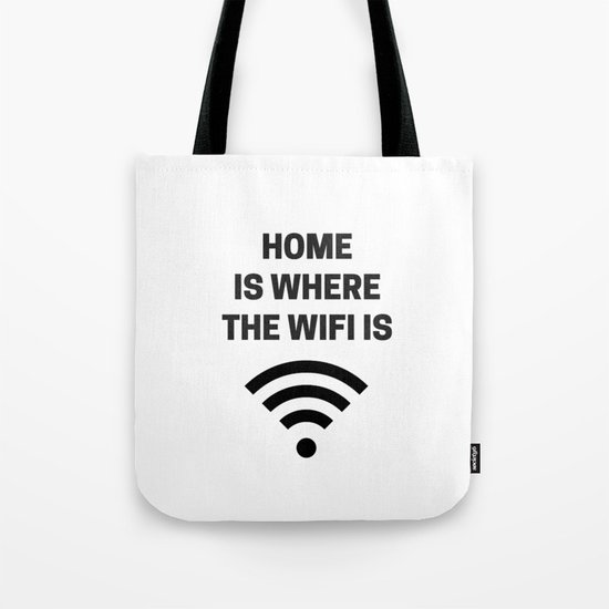 HOME IS WHERE THE WIFI IS by myrainbowlove