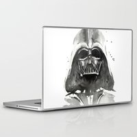 darth vader Laptop & iPad Skins featuring Darth Vader by Olechka