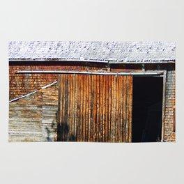 Open Barn Door Rug
