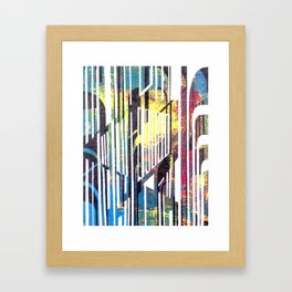 Artworksy Zebra 1 Framed Art Print