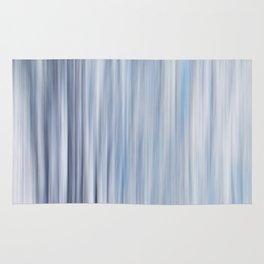Blured strips pattern Rug