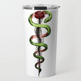 Rod of Asclepius Travel Mug