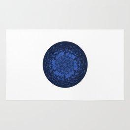 Zendala Blue and Lilac Rug