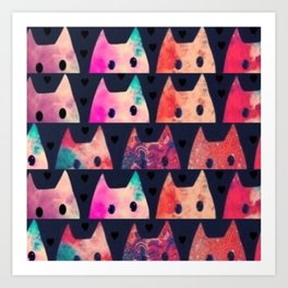 cats 34 Art Print