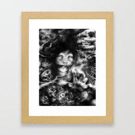 The Follower Framed Art Print