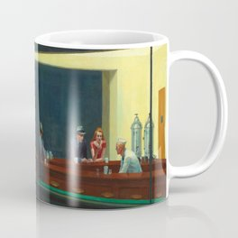 Edward Hopper's Nighthawks Coffee Mug