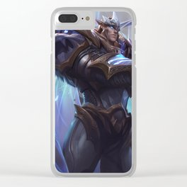 God King Garen League of Legends Clear iPhone Case