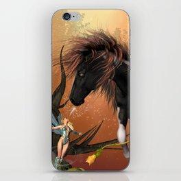 Beautiful horse  iPhone Skin