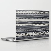 aztec Laptop & iPad Skins featuring aztec by spinL
