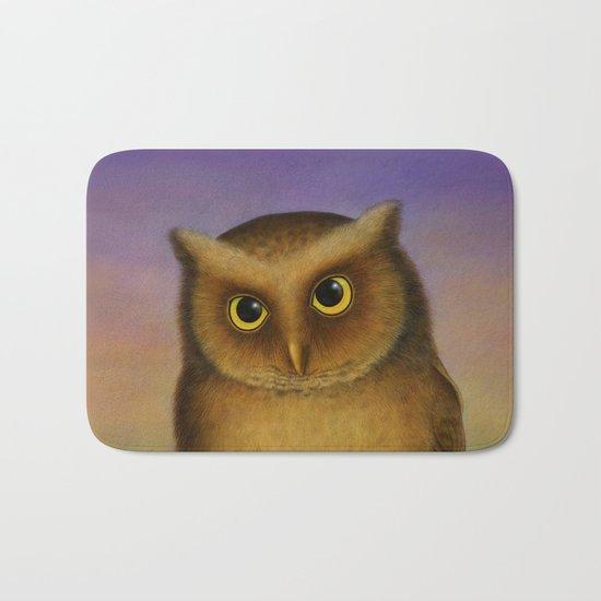 Mountain Scops Owl Bath Mat