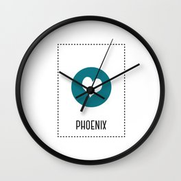 I Love Phoenix Wall Clock
