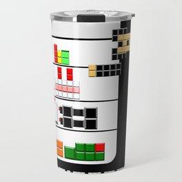 Refrigerator tetris ninja Travel Mug