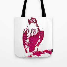 Extruded Falcon Tote Bag