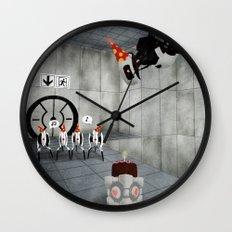 Glados' Birthday Wall Clock
