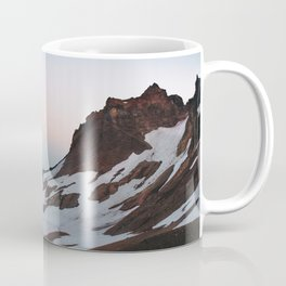 Alpine Lake Moonrise Coffee Mug