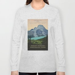 Mount Robson Provincial Park Long Sleeve T-shirt