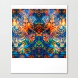 Swims with Fishes Canvas Print
