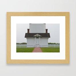 Bodie Island Lighthouse Framed Art Print