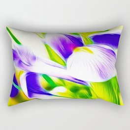 Fractalius iris Rectangular Pillow