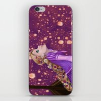 lanterns iPhone & iPod Skins featuring Lanterns by Kimberly Castello