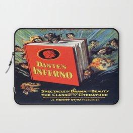 Vintage poster - Dante's Inferno Laptop Sleeve