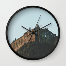 Castle On The Hill Wall Clock