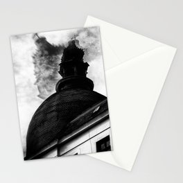 the cold wind Stationery Cards