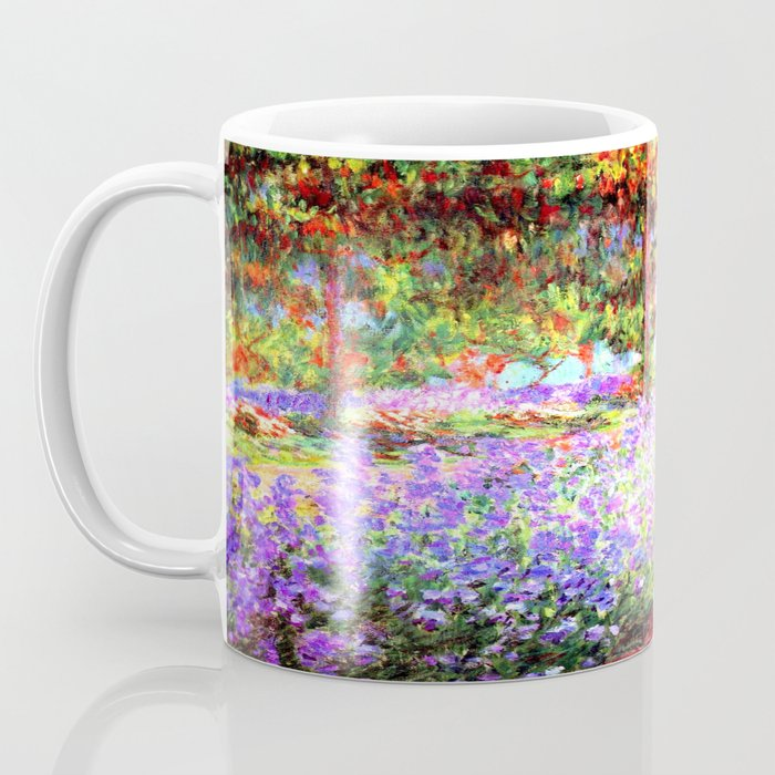 Monets Garden in Giverny Coffee Mug