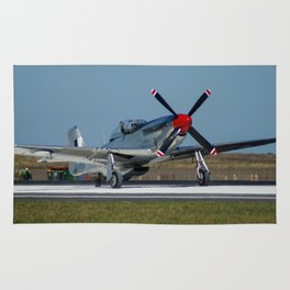 Avalon Airshow - P-51 Mustang Rug