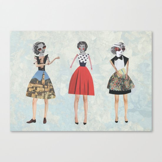 Dress envy Canvas Print