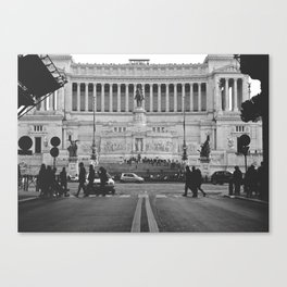 Tomb of the Unkown - Rome Canvas Print